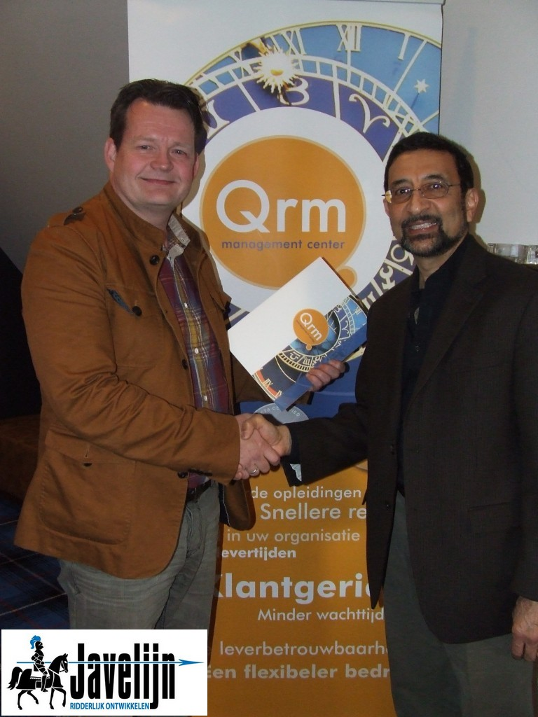 Uitreiking QRM Beta certificaat